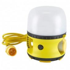 110v EMERGENCY LED Globe Site Work Light & Socket