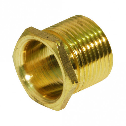 Brass Bush Male Long 20mm