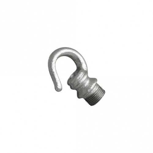GALVANISED METAL MALE HOOK 20MM