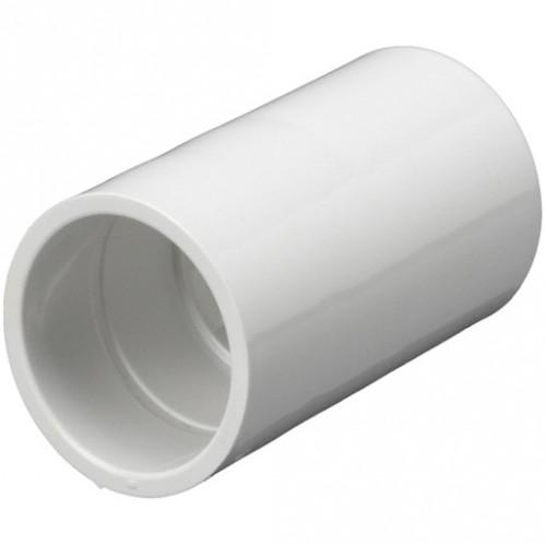20mm PVC Coupler White