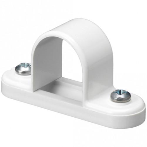 20mm PVC Spacer Bar Saddle White
