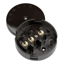 CLICK 30A JUNCTION BOX 3 TERM.-BROWN