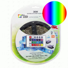 ALLLED 5M PACK LED STRIP 7.2W/M RGB + REMOTE CONTROL
