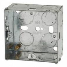 Switch/Socket Box 1G 35mm Metal