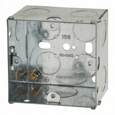Switch/Socket Box 1G 47mm Metal