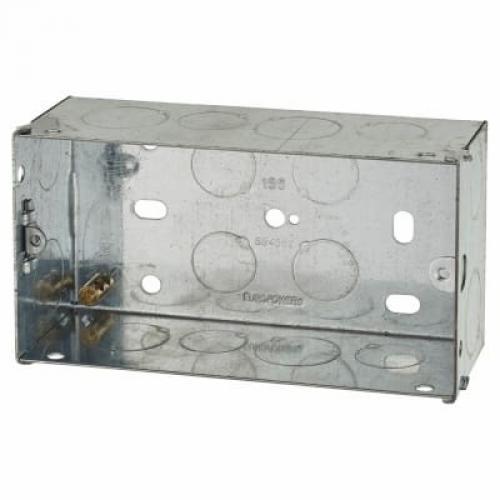 Switch/Socket Box 2G 47mm Metal