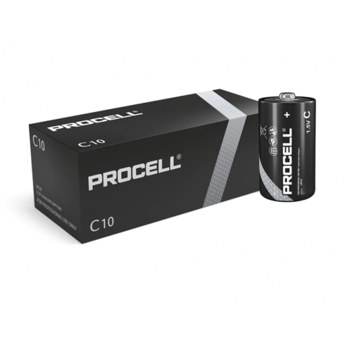 Duracell Procell Alkaline C Cell (Box Of 10)