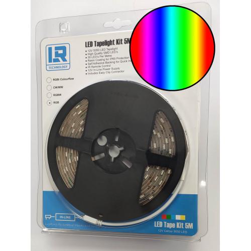 LED TAPE KIT 5M RGB