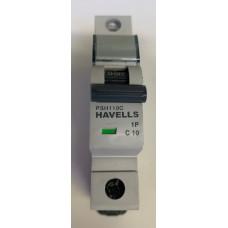 Havells 10A Single Pole MCB Type C (Brand New)
