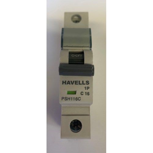 Havells 16A Single Pole MCB Type C (Brand New)