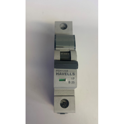 Havells 25A Single Pole MCB Type B (Brand New)