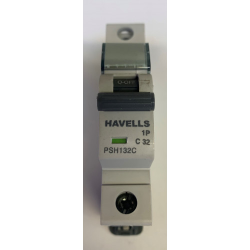 Havells 32A Single Pole MCB Type C (Brand New)