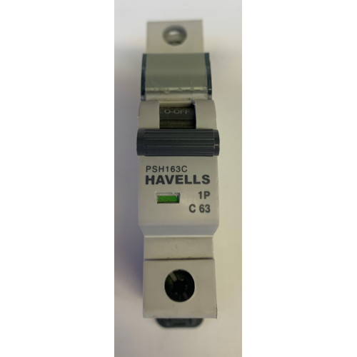 Havells 63A Single Pole MCB Type C (Brand New)