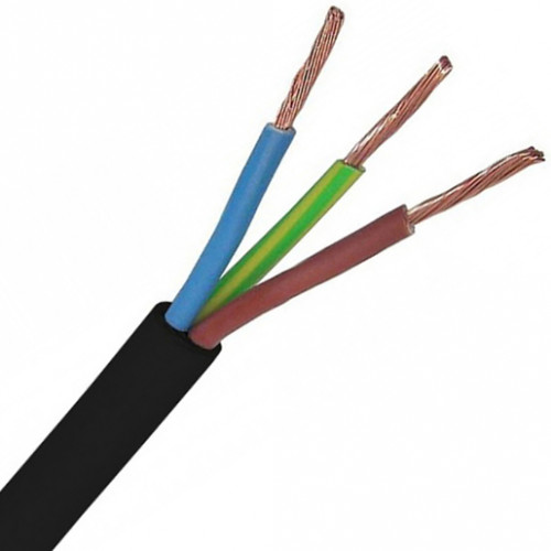 3183Y 2.5MM BLACK CABLE (50m)
