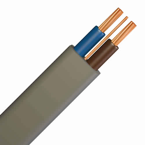 6242YH 10.0mm Brown Blue Cable (100m)