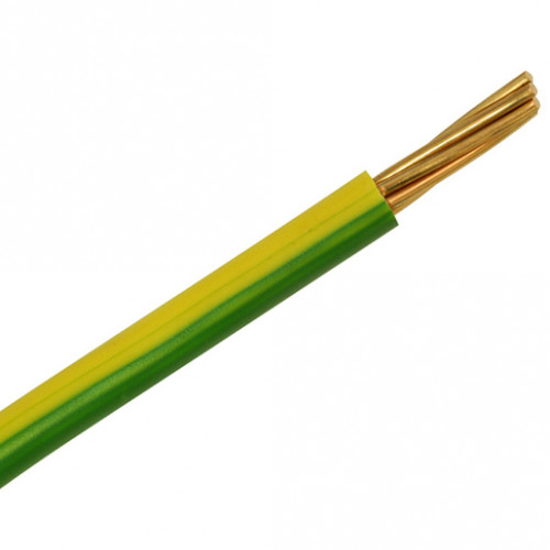 CABLE 6491B 35MM GREEN/YELLOW LSOH (100m)