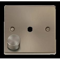 CLICK VPSC140PL 1G SGL DIMMER PLT & KNOB