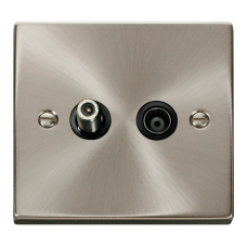 SATELITE AND ISOLATED COAXIAL SOCKET