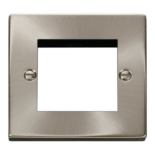 CLICK VPSC311 FRONTPLATE 1G 2MODULE