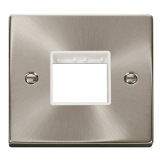 CLICK VPSC402WH FRONTPLATE 1G 2APERTURE