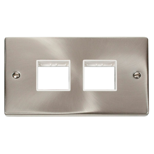 CLICK VPSC404WH FRONTPLATE 2G 4APERTURE