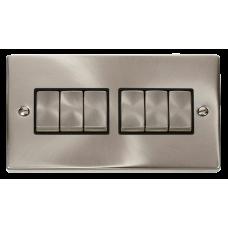 CLICK VPSC416BK PLATESWITCH 6G 2W 10A SC