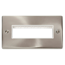 CLICK VPSC426WH FRONTPLATE 2G 6APERTURE