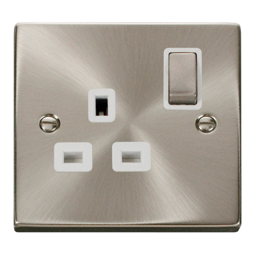 CLICK VPSC535WH SOCKET DP 1G SWD 13A