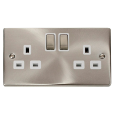 CLICK VPSC536WH SOCKET DP 2G SWD 13A