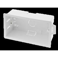 CLICK WA107P BOX 2GANG DRY LINING 47MM