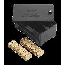 CLICK WA228 JUNCTION BOX 2P 100A BLK