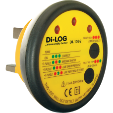Di-Log DL1092 Socket Tester Audible