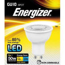 ENERGIZER LED GU10 370LM 5W COOL WHITE