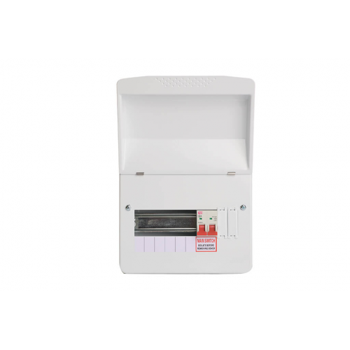 Fusebox 7 Way 63A 30Ma Consumer Unit