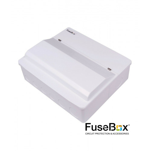 Fusebox SPd 16Way SPlit 2X80A Rcd +MCBs