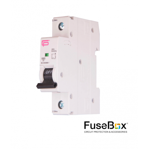 Fusebox 20A SP MCB B Type