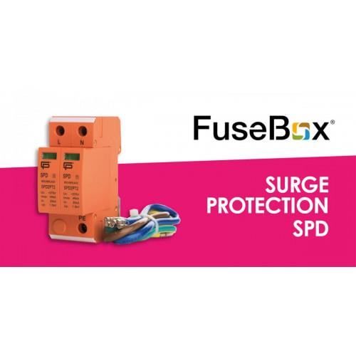 Fusebox SPd T2 2Mod 40Ka 275V