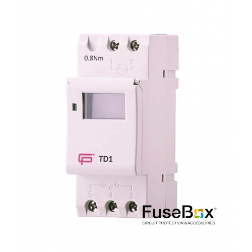 Fusebox Time Clock 7Day 1Ch 150H
