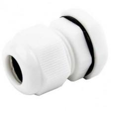 20mm White PVC Compression Gland (x10)