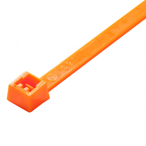 Orange Cable Tie 4.8MM-300MM (x100)