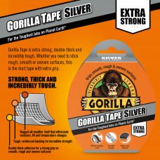 Gorilla Tape Silver 11m