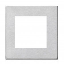 Hamilton Hartland G2 Stainless Steel Single Plate with 2 EuroFix Aperture and Grid