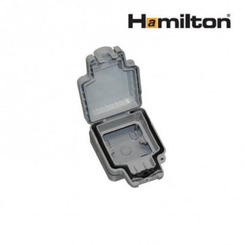 Hamilton Elemento 1Modgy Enclosure 1G Ip66 Grey