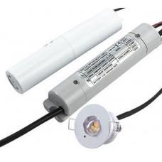 HARLEC CORRIDOR PINSPOT 3W LED EMERGENCY