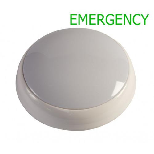 HARLEC 15W LED EMERGENCY POLO BULKHEAD 5,500