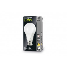 INTEGRAL Classic Globe (GLS) 9.5W (60W) 2700K 806lm B22 240 deg Beam Angle Non-Dimmable-Lamp