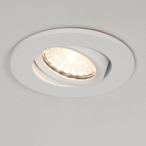 KSR FIRE RATED 10W 3000K LED TILTABLE DIMMABLE DOWNLIGHT