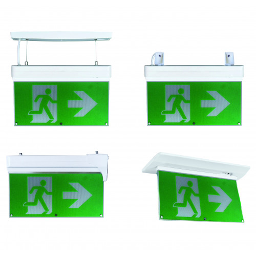 Blade Multi-Purpose Exit Sign 2W 3 Hrs w