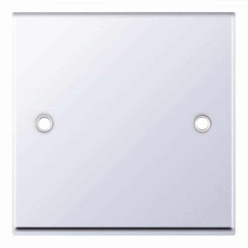Selectric 7M-Pro Polished Chrome 1 Gang Blank Plate 7MPRO-342