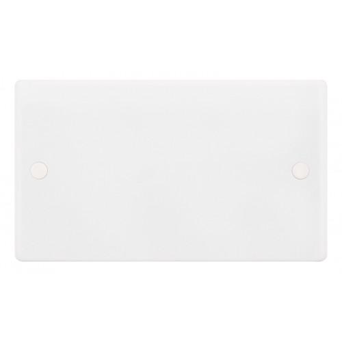 Selectric Smooth 2 Gang Blank Plate SSL545